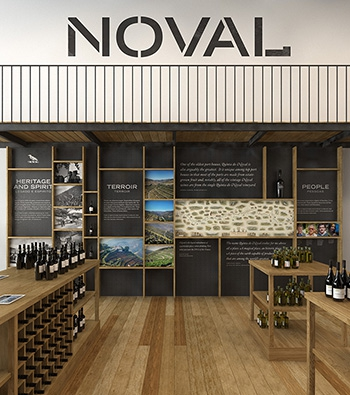 Quinta do Noval shop and wine tastings